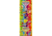 Chanukah Themed Die-Cut Stickers Style 2