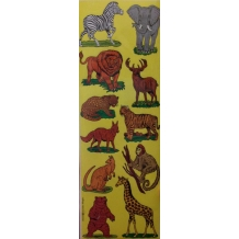 Animal Die-Cut Stickers