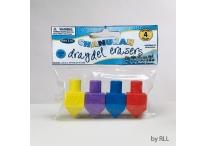Chanukah Dreidel Erasers