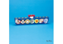 Hand Painted Noahs Ark Menorah