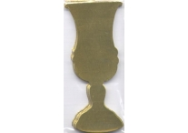 Gold Kiddush Cup Cutouts