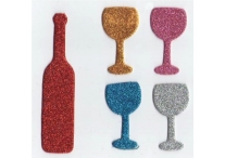 Passover Glitter Foam Shapes