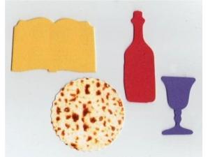 Passover Foam Shapes Set