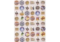 Passover Seder Symbols Stickers