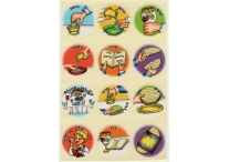 Passover Seder Steps Stickers