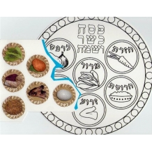 Passover Seder Plate Cut...