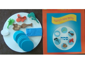 Create Your Own Seder Plate Craft; Pack of 6