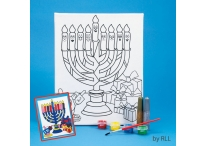 Chanukah Paint Your Own Canvas Art