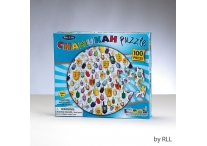 Chanukah Round Jigsaw Puzzle