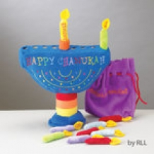 My Soft Menorah Set