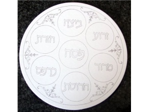 Passover Seder Plate Craft, Set of 12