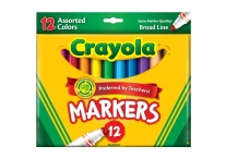 12 Count Broad Line Classic Crayola Markers