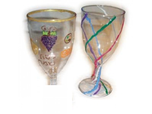 Decorate Your Own Kiddush Cup