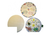 10 Inch Wooden Disks for Seder Plate