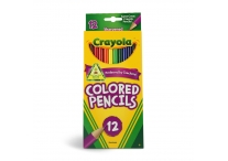 12 Count Crayola Colored Pencils
