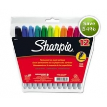12 Fine Point Sharpies