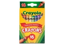 16 Count Tuck Box Crayola Crayons