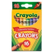 16 Count Tuck Box Crayol...