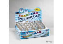 Chanukah Bouncy Ball Set of 12
