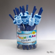 Chanukah Straws; Set of ...