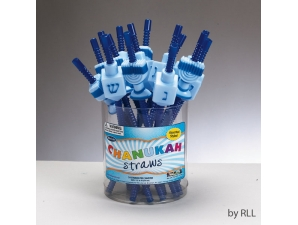 Chanukah Straws
