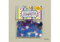 Happy Chanukah Confetti