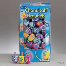 Chanukah Wooden Draydels...