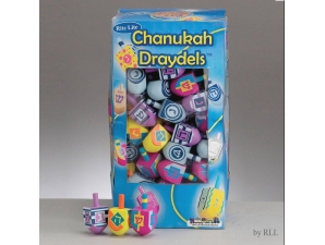 Chanukah Wooden Draydels
