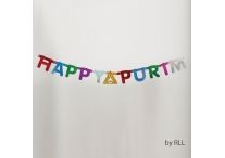 Purim Laser-Cute Banner