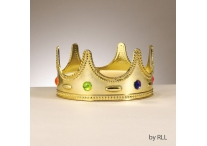 Purim Jeweled Crown, 7""