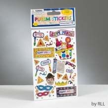 Purim Prismatic Stickers