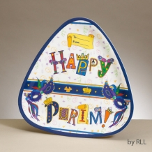 Purim Triangular Melamin...