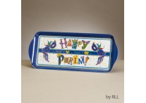 Purim Melamine Rectangle Tray