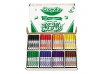 200 Count Classpack Crayola Washable Markers