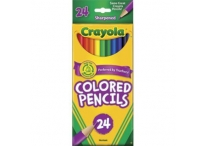 24 Count Crayola Colored Pencils
