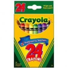 24 Count Tuck Box Crayol...