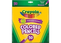50 Count Crayola Colored Pencils