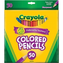50 Count Crayola Colored...