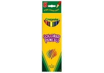 8 Count Crayola Colored Pencils