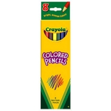 8 Count Crayola Colored ...