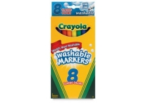 8 Color Count Thin Line Crayola Markers, Classic Colors