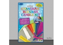Chanukah Beeswax Candle Kit, Makes 9 Candles