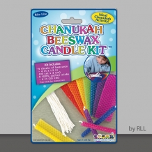 Chanukah Beeswax Candle ...