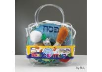 Passover Plush Seder Set, 7 Pieces