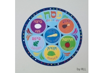 Passover Round Placemat