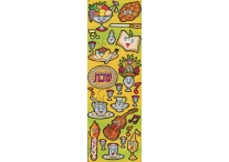 Shabbat Kodesh, Die-Cut Stickers