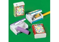 Aleph Bet Pencil Sharpeners