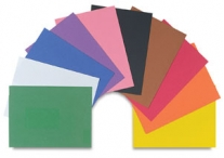 50 Count Dark Brown 9 x 12 Construction Paper Sheets