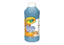 16 Oz Blue Washable Crayola Finger Paint