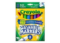 8 Color Count Bold Crayola Markers